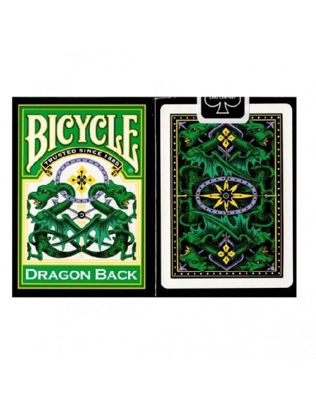 carte bicycle dragon green
