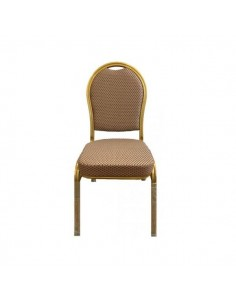 Sedia Hotel - Poker modello Superlux Beige