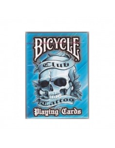 Carte Bicycle - Tattoo blu