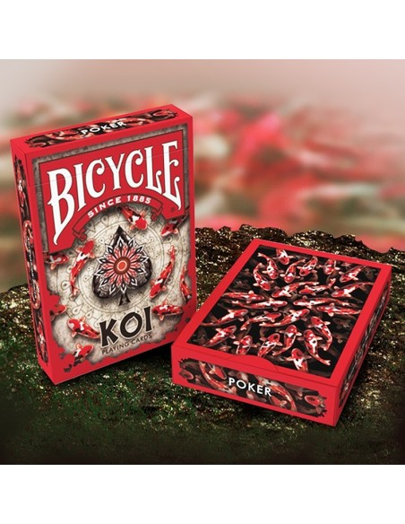 Carte da gioco Bicycle - Koi