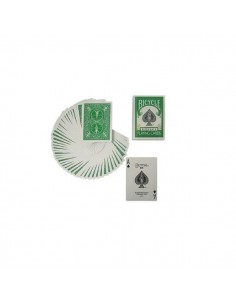 Carte Bicycle green