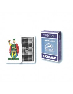 Siciliane plastic cards