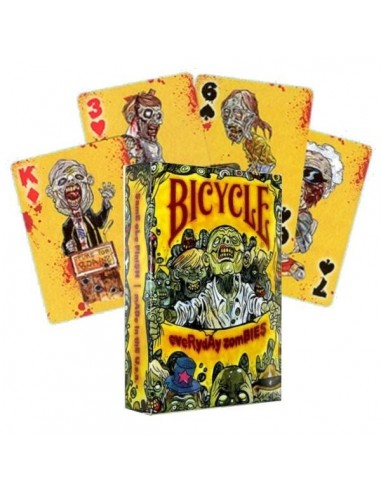 Carte Bicycle Everyday zombies