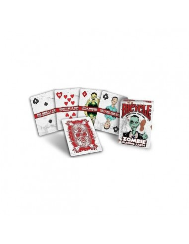 Bicycle playing card Zombie