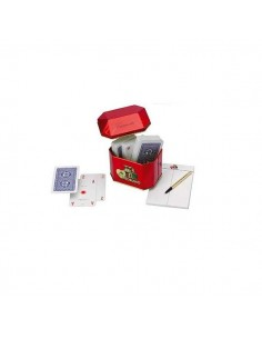 Canasta playing cards Modiano in metal box
