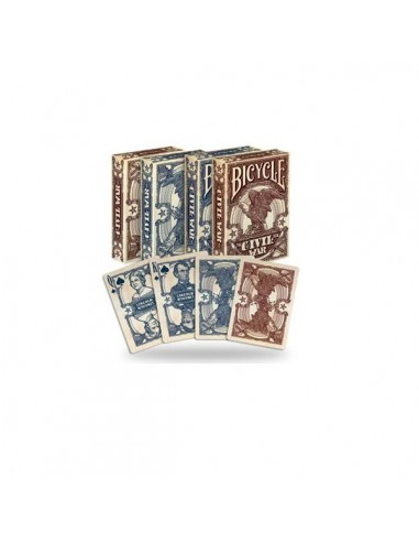 Bicycle Playing cards - Civil War