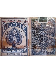 Carte Bicycle distressed expert back