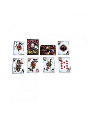 Bicycle playing cards - Killer Clown