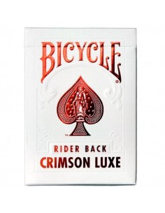 Bicycle Playing cards - Metal luxe Red