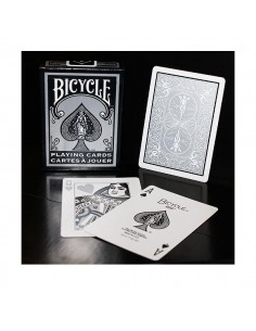 Bicycle playing cards - Silver Fashion