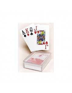 Cartamundi plastic playing cards bridge size