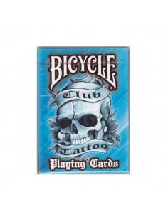 Carte Bicycle - Tattoo blu