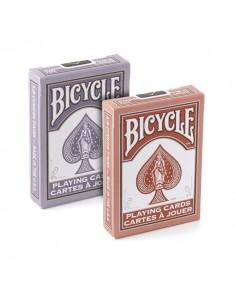 Bicicleta Marsala y tarjetas de amanecer