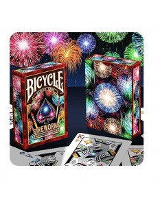 Carte Bicycle fireworks
