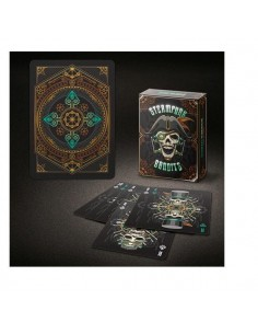Carte Bicycle Steampunk Bandits coloured edition
