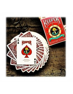 Carte Keeper deck red By Ellusionist - marked