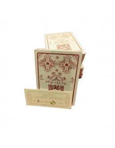PTW Celtic playing cards red deck limited edition