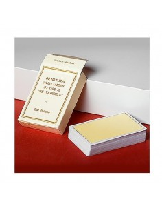 Magic Notebook - Champagne playing cards