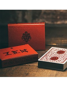 Royal red Zen Playing cards