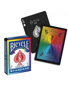 Bicycle Rainbow Balck playing cards