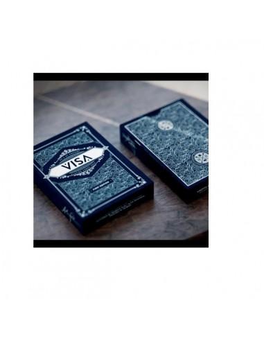 Visa Playing cards blue back