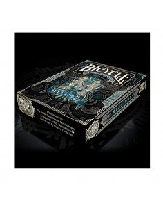 Bicycle Mystique Blue playing cards