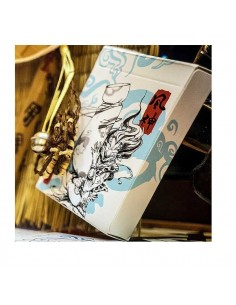 Fujin & Raijin playing cards - blue deck