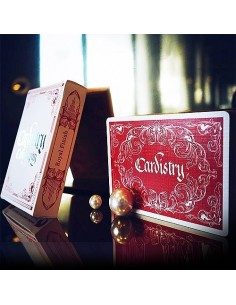 Cardistry Calligraphy Red playing cards