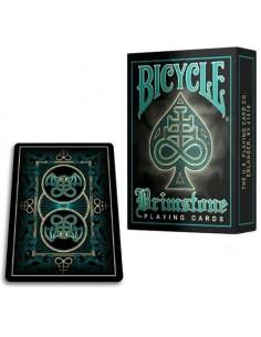 Bicycle Brimstone - Aqua playing cards
