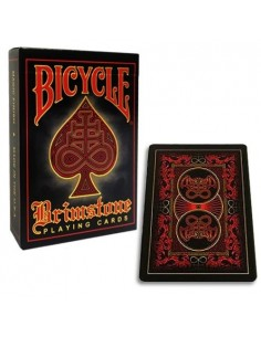 Bicycle - Brimstone - Red playing cards
