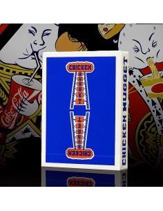 Carte da gioco Chicken Nugget - Blue