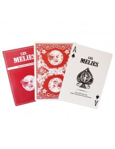 Les Melies - Red Eclipse Edition Playing Cards