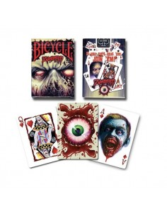 Bicycle - Zombified playing cards