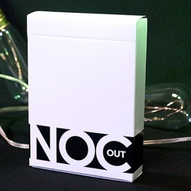 Carte da gioco NOC Out - White