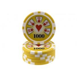 Chips 13.5 gr Royal Flush -...