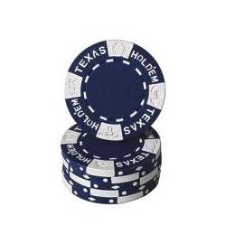 Fiches Clay 11,5 gr. Blu Texas Hold'em