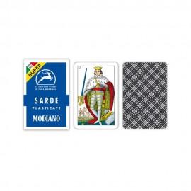Carte da gioco Sarde Blu Super