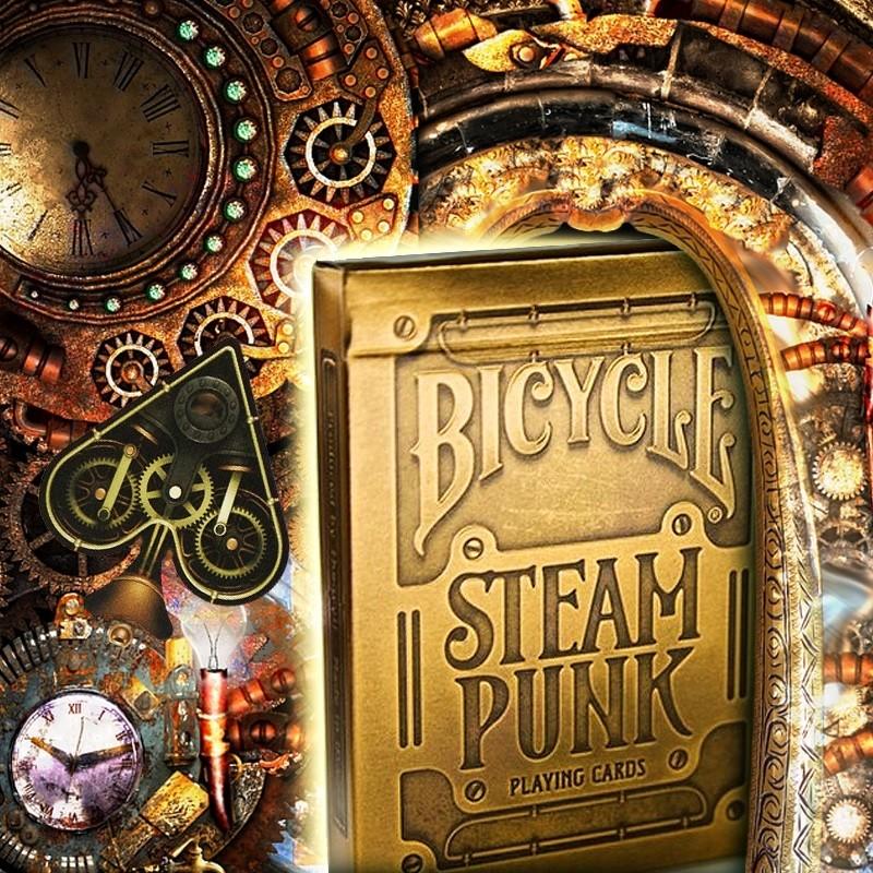 carte da gioco Bicycle Steam Punk