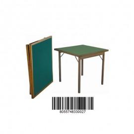 Tavolo da gioco in legno 90x90