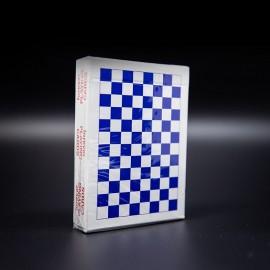 Carte da gioco Forever Checkerboard Blue