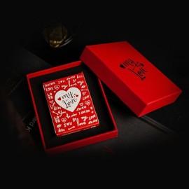 Carte da gioco My Love with exquisite gift box