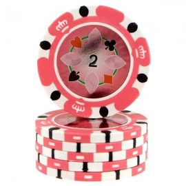 Fiches Crown Casino Pink 2