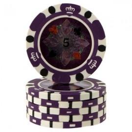 Fiches Crown Casino Purple 5