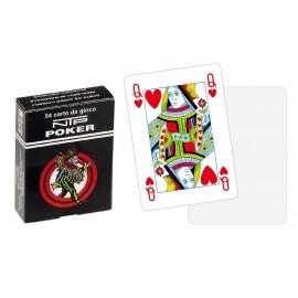 Carte da Poker NTP dorso bianco