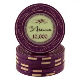 Ascona Purple 10000 ceramic chips