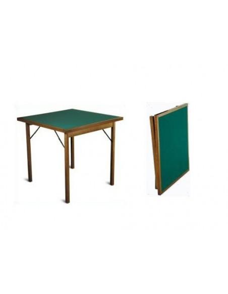 Tavolo da gioco pieghevole in legno - Tavoli da gioco carte pieghevoli ...