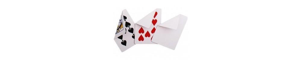 carte per giochi di magia cardistry e magic