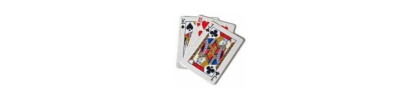 Cartes à jouer pour Texas Holdem Burraco Bridge Poker et malvoyants