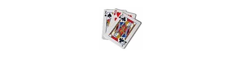 playing cards for poker texas holdem Burraco bridge and visually impaired