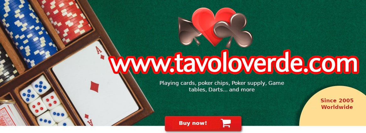 Tavoloverde the e-shop for playing cards addicted